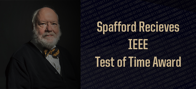 Spafford Receives Test of Time Award