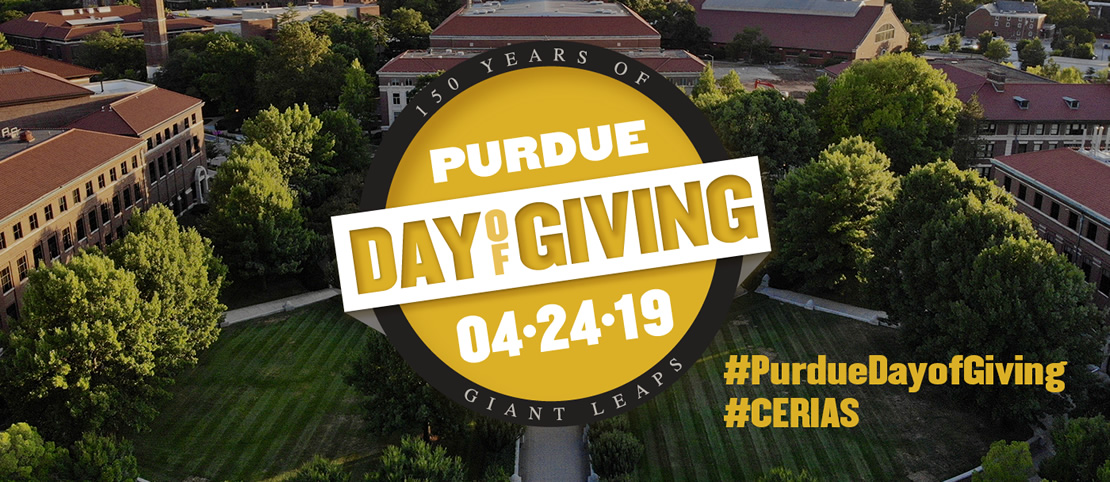 Purdue Day of Giving: April 24th, 2019