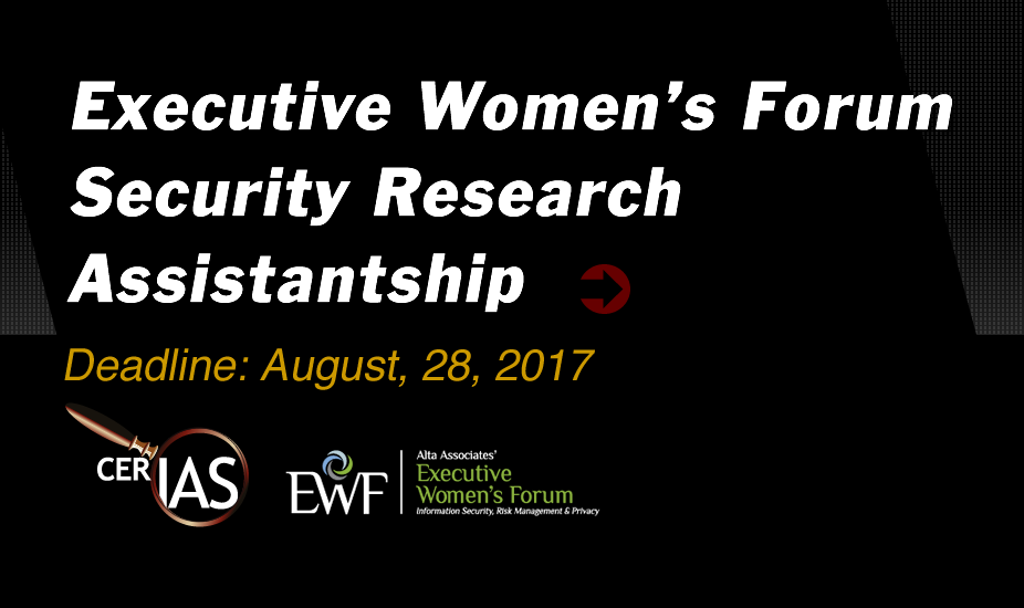 Executive Women's Forum Security Research Assistantship