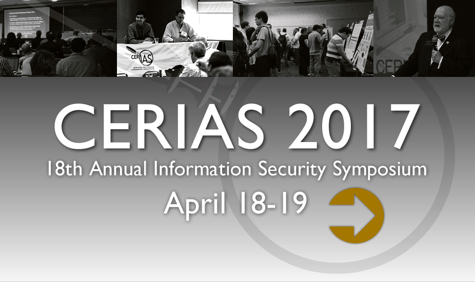 2017 Annual Information Security Symposium - April 18-19