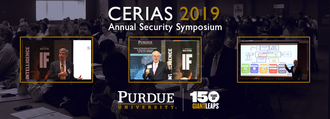 CERIAS 2019: Annual Security Symposium