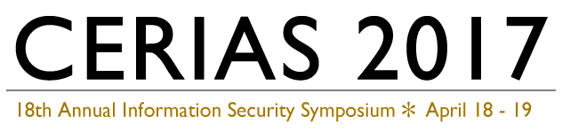 CERIAS Annual Information Security Symposium - April 18 - 19, 2017
