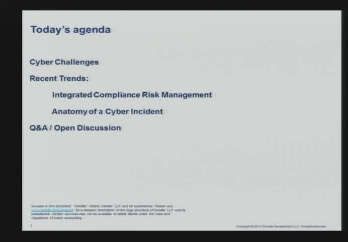Trends in cyber security consulting
