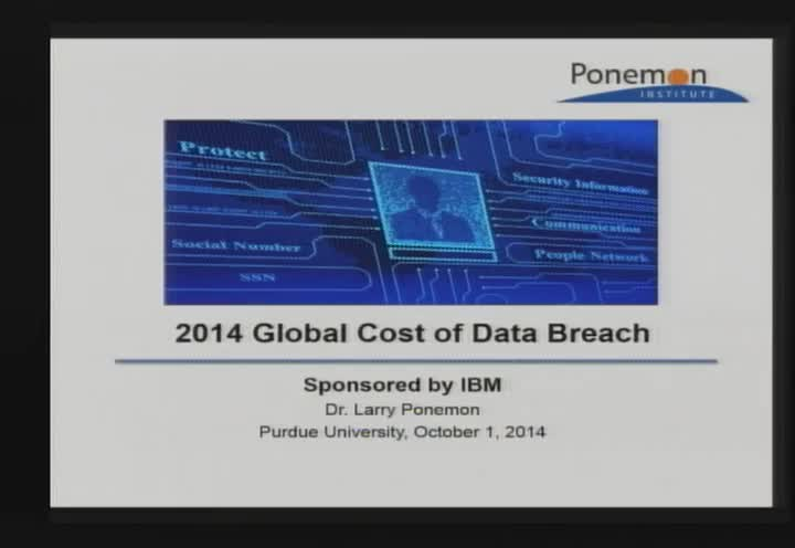 Responsible Information Management and the 2014 Cost of Data Breach: Global Analysis