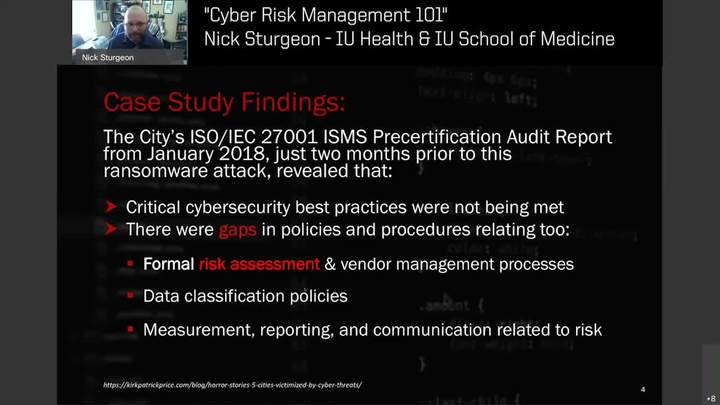 Cyber Risk Management 101