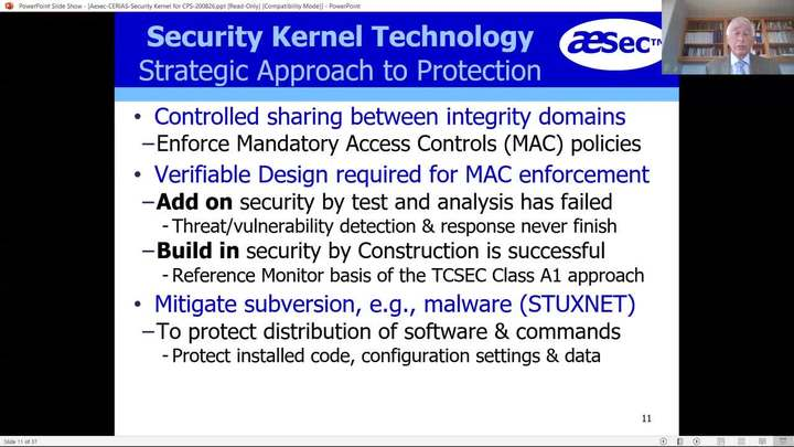 Dramatically Reducing Attack Surface Using Integrity MAC Security Kernel