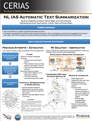NL IAS Automatic Text Summarization